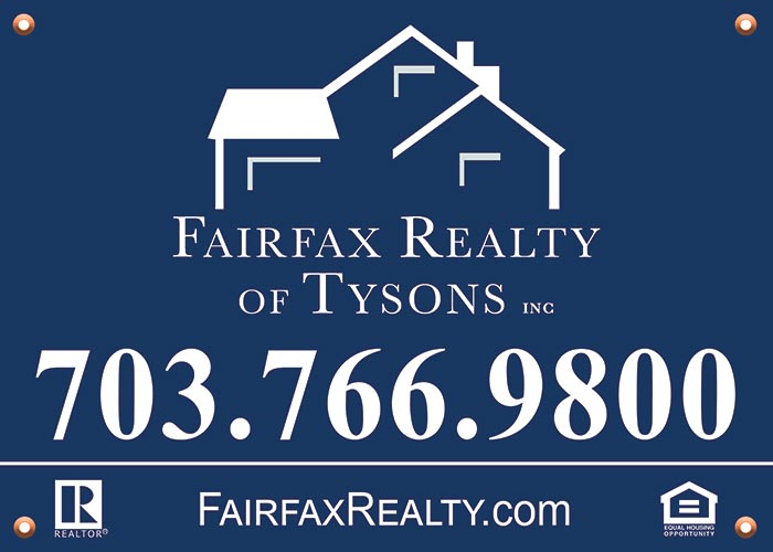 Fairfax Realty Yard Signs - Lida Assareh