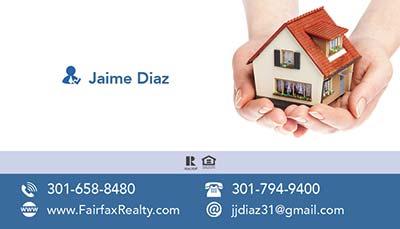 Business Cards - Jaime Diaz-Front