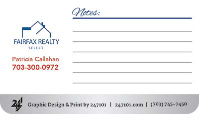 Business Cards - Patricia Callahan-Front
