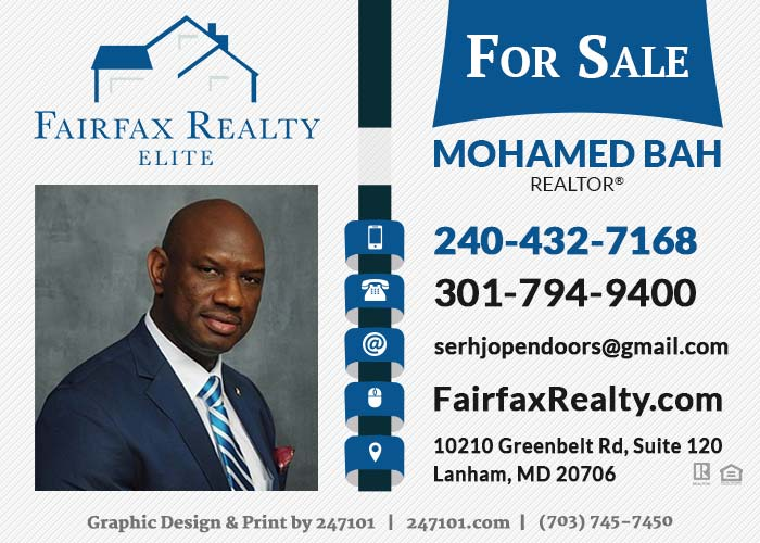 247101 - Yard Signs - Mohamed Bah