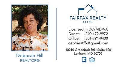 Business-Cards - Deborah Hill