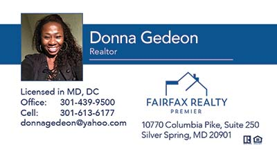 Business Cards - Donna Gedeon