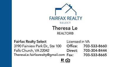 Business Cards - Theresa Le