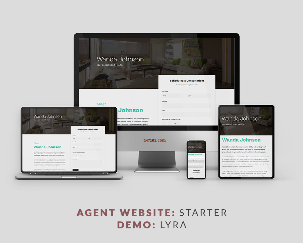 247101 Real Estate Website - Lyra