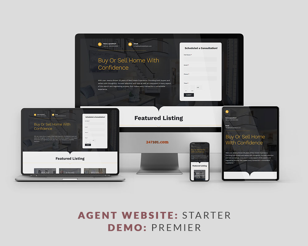 247101 Real Estate Website - Premier