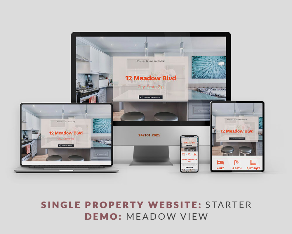 247101 Real Estate Website - Meadow View