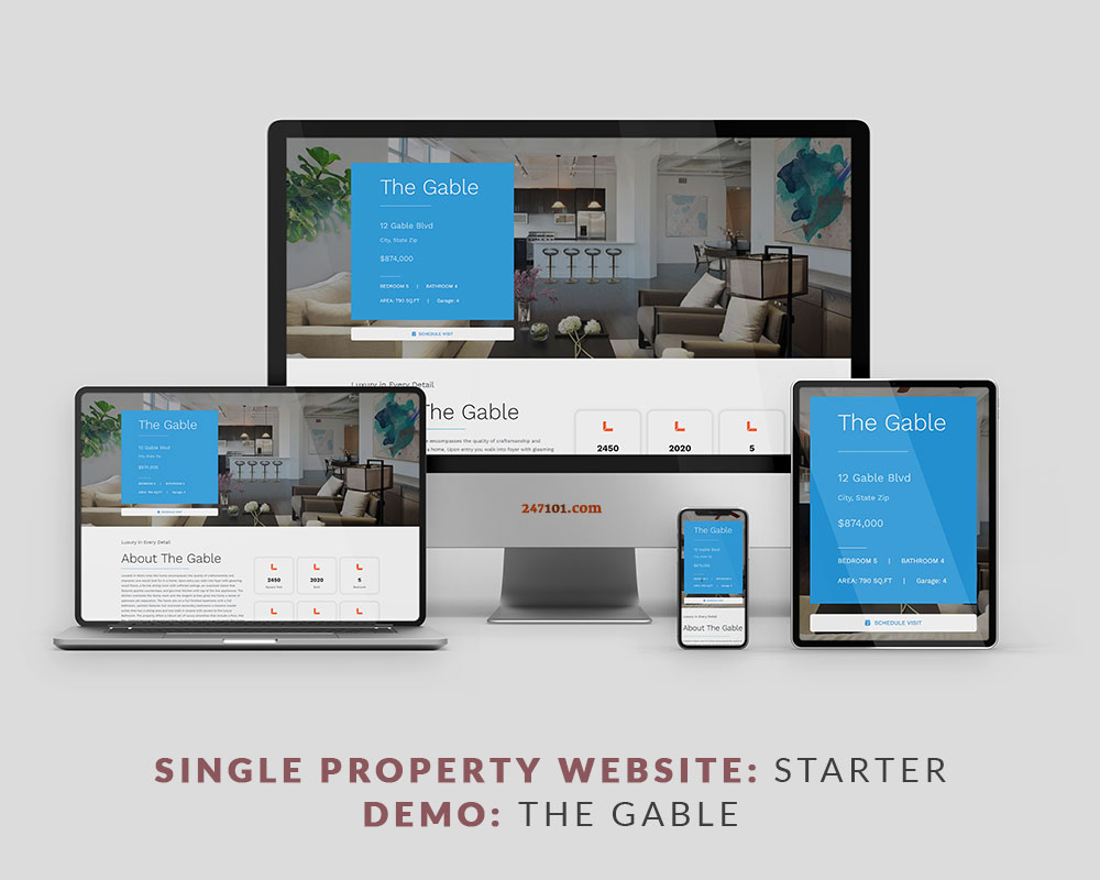 247101 Real Estate Website - The Gable