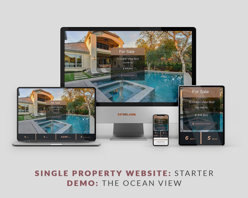 247101 Real Estate Website - The Ocean View