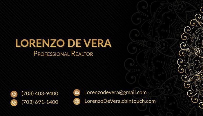 Business Cards - Lorenzo De Vera - Front