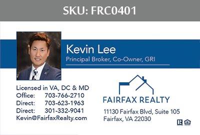 Fairfax Realty Business Cards by 247101