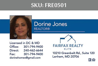 Fairfax Realty Elite Business Cards by 247101