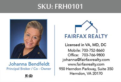 Fairfax Realty of Herndon Business Cards by 247101