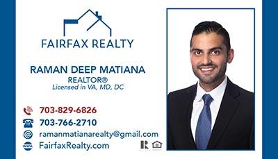 Fairfax Realty - Raman Deep Matiana