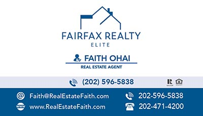 Business Cards for Fairfax Realty Elite Agents