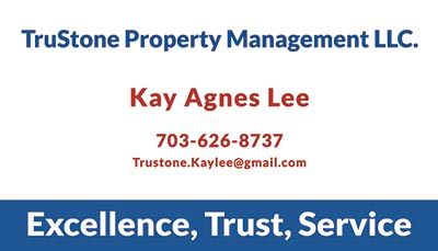 Fairfax Realty Business Cards Kay Agnes Lee