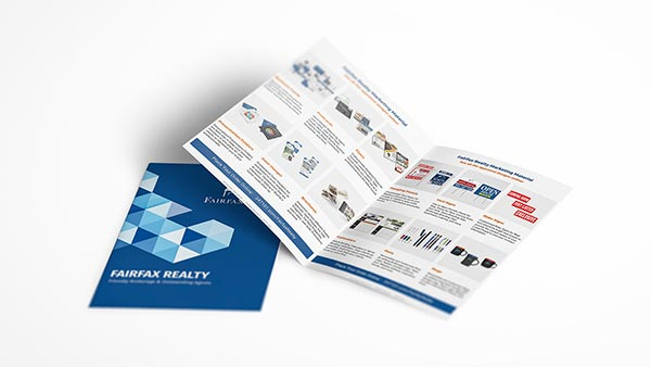 Fairfax Realty Marketing Material Brochures by 247101