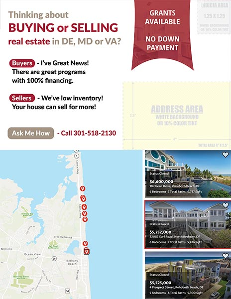 Digital Marketing & Print Marketing Material for Luxury Agents