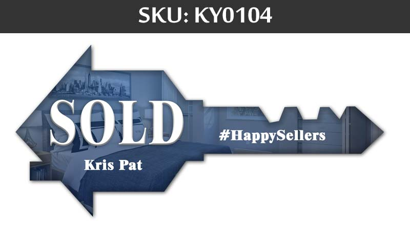 blue sign for sold on happy sellers side for fairfax realty agents