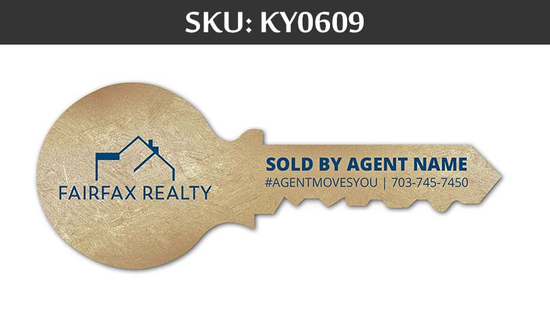 fairfax realty gold key with agent's name