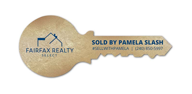 Realtors Giant Key Prop for Fairfax Realty