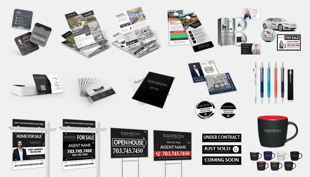 Samson Properties - Marketing Material and Digital Marketing for Real Estate Agents