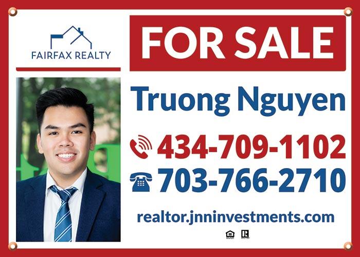 Fairfax Realty signs for Fairfax Realty 50/66 LLC Agents