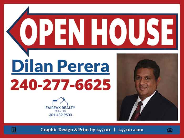Signs for Fairfax Realty Premier LLC Agents