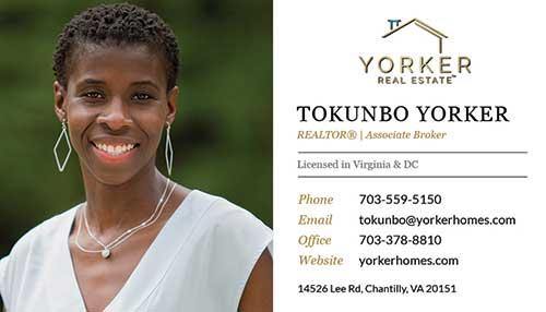 Realtors Business Cards for Samson Properties - Tokunbo Yorker